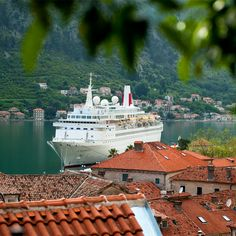 Fred. Olsen's Boudicca pictured in Kotor. Take a look at our Fred. Olsen Cruise Lines infographic for 5 reasons you should consider cruising with this traditional British cruise company. More here http://about2crui.se/FredOlsenCruises  Image courtesy of @fredolsencruise #fredolsen #cruises #kotor