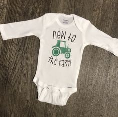 Your place to buy and sell all things handmade Sibling Baby Announcements, Baby Announcement Pictures, Baby Shirts, Kids Shirts, Onesies, Onesie Diy, Baby Boy Baseball, Baby Boys, Homecoming Outfits
