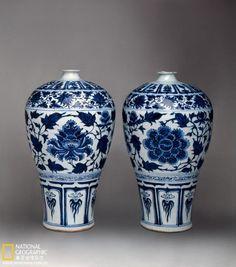 Topkapi Yuan blue & white.