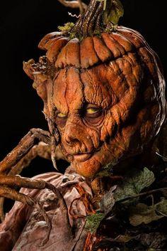 El señor Calabaza para una celebración de madres en Halloween.