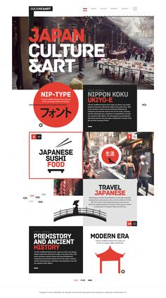 Culture&Art Japanese in Web Design