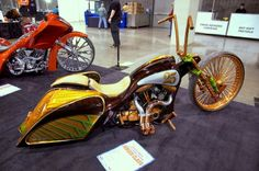 Well we've finally come the third part of our coverage of the unbelievable custom bikes at the Charlotte Easyriders Bike Show and I hope you enjoyed...