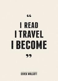 Amazing books and exploring new places… The art of becoming