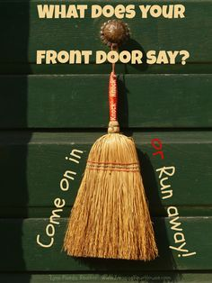 Selling your home?  What does your front door say?  #realestate #homesellingtips