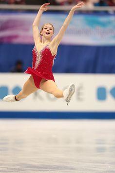 Joannie Rochette, Firebird. My favorite routine from ...Gracie Gold Skating Dresses