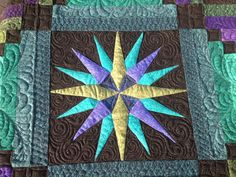 compass quilting