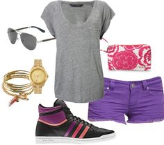 Casual Summer, created by tfran on Polyvore