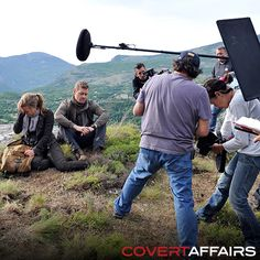 "Behind the Scenes: Covert Affairs Season 5, Ep 7 ""Brink of the Clouds"