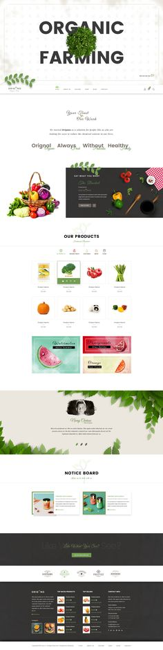 Origano – Organic Store PSD Template designed specifically for Organic Store, Organic Farming, Farm, Organic Food, Organic Food Shop and many other services.  Key Features    37 Layered PSD Files  1170...