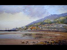 VIDEO: How to paint a beach in watercolour. Watercolour legend Grahame Booth strutts his stuff en plein air on the Irish Sea coast