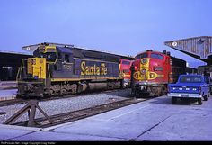 RailPictures.Net Photo: ATSF 5526 Atchison, Topeka & Santa Fe (ATSF) EMD SD45 at Los Angeles, California by Craig Walker