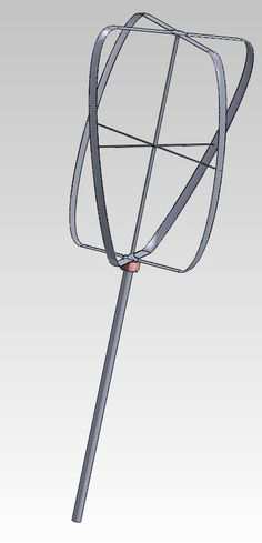 Wind Generator to produce 1kW Electricity.