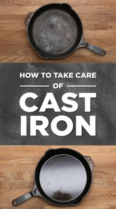 Everything You Need To Know About Cooking With Cast-Iron Pans. One of the best instructional videos about the how and why of cast iron skillet care/use I've seen. Cast Iron Skillet Cooking, Iron Skillet Recipes, Cast Iron Recipes, Skillet Meals, Cooking With Cast Iron, Season Cast Iron Skillet, Skillet Food, Skillet Pan, Dutch Oven Cooking