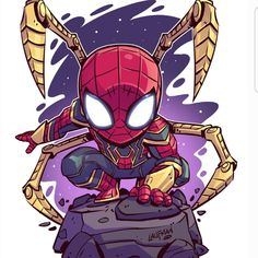 png – Young Lady Fashion The post Iron-Spider_Print_sm.png – Young Lady Fashion appeared first on Marvel Universe. Chibi Marvel, Marvel Art, Marvel Dc Comics, Marvel Heroes, Captain Marvel, Thanos Avengers, The Avengers, Spiderman Kunst, Chibi Spiderman