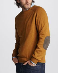 Loro Piana Cashmere Crewneck Sweater - Neiman Marcus