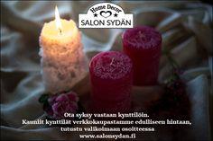 Paljon suomalaisten käsityöläisten tuotteita upeassa verkkokaupassa www.salonsydan.fi Jos sinua kiinnostaa myydä tuotteitasi Home Decor Salon Sydämessä, niin laita sähköpostia salonsydan@gmail.com