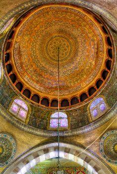 Al-Aqsa (?) Masjid (Islamic Umayyad (?) Architecture, al-Quds (Jerussalem), Palestine)