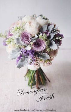 You're probably familiar with some of the most common wedding flower arrangements, such as bouquet Purple Wedding Bouquets, Wedding Flower Arrangements, Bride Bouquets, Bridal Flowers, Flower Bouquet Wedding, Wedding Bridesmaids, Burgundy Wedding, Wedding Flower Guide, Floral Wedding