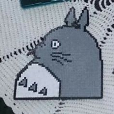 Totoro hama beads by altzi