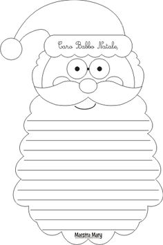 Letterine di Babbo Natale da stampare e ritagliare. #maestramary #letterinedinatale #letterebabbonatale #letterinenataledastampare #natale #attivitànatale Christmas Colors, Winter Christmas, Christmas Crafts, Printable Christmas Coloring Pages, Christmas Printables, Christmas Activities For Kids, Fall Crafts For Kids, Christmas Cards Drawing, Reno