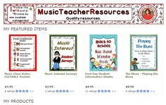 ♫ ♫ ♫ Music Education Resources! Over 280 resources to choose from!.... Be prepared for your music classes! ♫ ♫ ♫