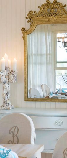 Monogrammed chairs Beautiful Interior Design, Home Interior Design, Interior Architecture, Interior Decorating, Interior Ideas, Room Interior, Design Commercial, Beautiful Mirrors, Piece A Vivre