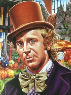 Willy Wonka and the Cohcolate Factory by Jason Edmiston Horror Icons, Horror Art, Horror Film, Jason Edmiston, Epic Film, Luis Royo, Blond Amsterdam, Willy Wonka, Hollywood