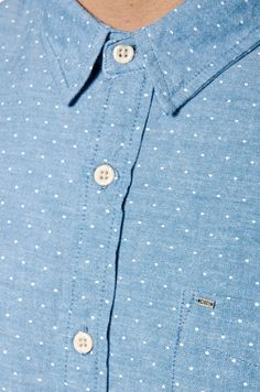 Obey Dripps Chambray Polka Dots