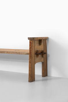 David Rosén bench model Berga at Studio Schalling