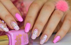 nail art spirale frais girly vernis