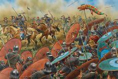 Neste dia, 20 de junho, 451 AD - a batalha dos campos cataláunicos!