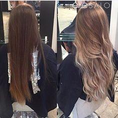 #brunette to #blonde! YEAH BABY! Hair by @jamiekristie_hair