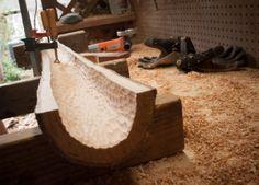 Wet History - Backyard Crafting | Making Didgeridoos Didgeridoo, Aboriginal Dreamtime, Flute, Crafting, Woodworking, Backyard, Homemade, History, Mythology