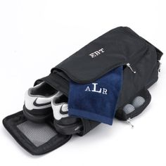 Embroidered Monogram 3 Initial Golf Shoe Bag Great Groomsmen Gifts Or Gift For Dad on Etsy, $29.99
