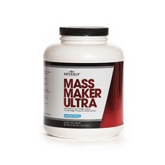 Beverly International Mass Maker Ultra is a great tasting weight gain powder that will help you gain or maintain healthy weight mass