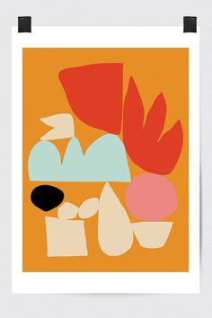 Modern Art Print #fluorama#fluoramaposters#posters#prints#art#wallart#design#interiordesign#illustration