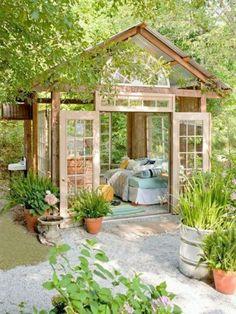 20 outstanding garden retreat designs for real enjoyment relaxation - Garden Sheds Marietta Ga