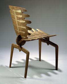 Fourth Frond Chair by Terence Main, 1991