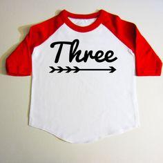 3 year old birthday shirt Three year old bday by createmeatshirt