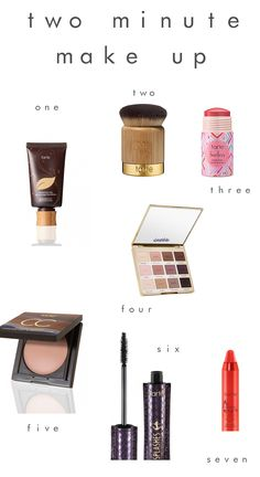 two minute make-up