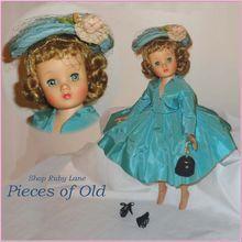Madame Alexander Elise Doll in Blue Taffeta c.1958 MIB