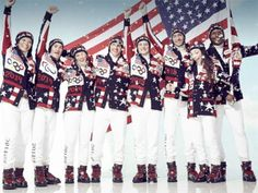 Check out the U.S. Olympic team's Sochi Opening Ceremony uniforms…Winter 2014