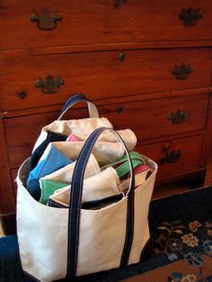 A fabulous post All about boat an totes!  This is a staple piece!  Swoon!!!