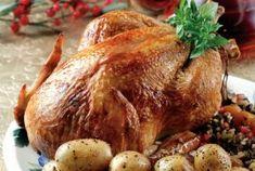 Κοτόπουλο γεμιστό-featured_image Greek Recipes, New Recipes, Cooking Recipes, Healthy Recipes, The Kitchen Food Network, Greek Cooking, Weekday Meals, Christmas Cooking, Food Categories