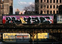Martha Cooper began photographing the graffiti of New York City's trains while working as a photojournalist for the New York Post in the 1970s!