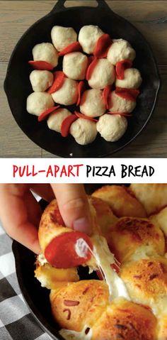 DIY Pull-Apart Pizza Bread