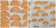 Super Simple 1-Ingredient Sweet Potato Chips via yummytoddlerfood.com