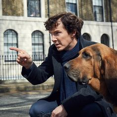 First look: Benedict Cumberbatch in #Sherlock Series Four. The game is on.   #BTS #BehindTheScenes #OnSet #BenedictCumberbatch