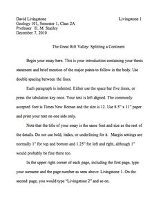 Short concise essay