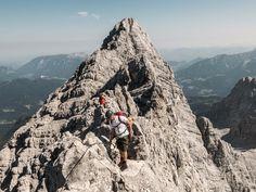 Klettersteigset Watzmann : Besten watzmannüberschreitung bilder auf climbing